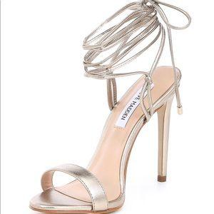 Brand New* Steve Madden Level Metallic Sandals